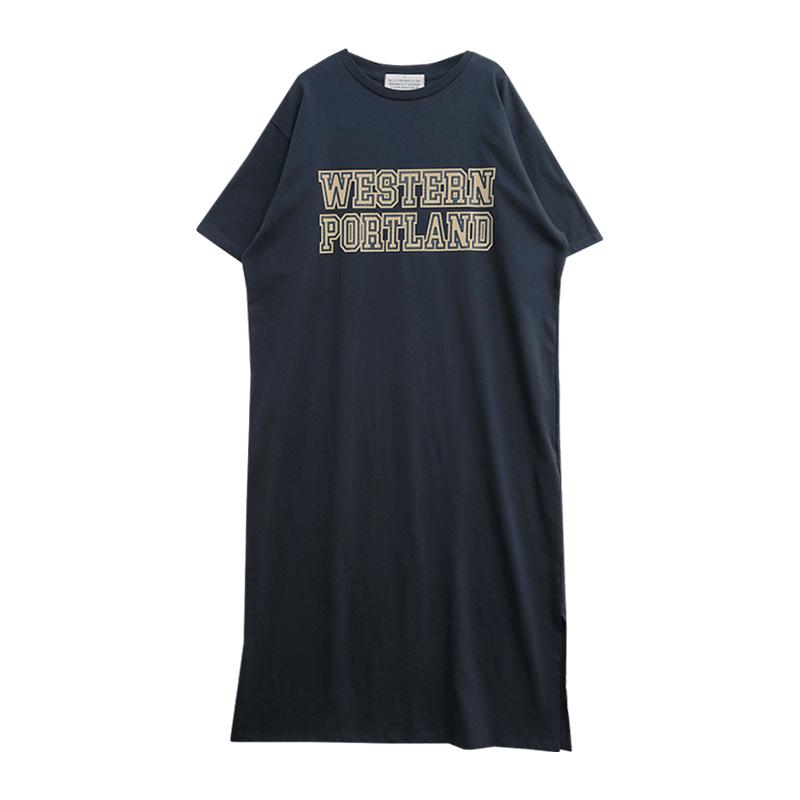 WESTERN PORTLAND Long T-Shirt Dress