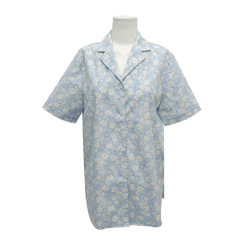 크리미플로럴 하프셔츠