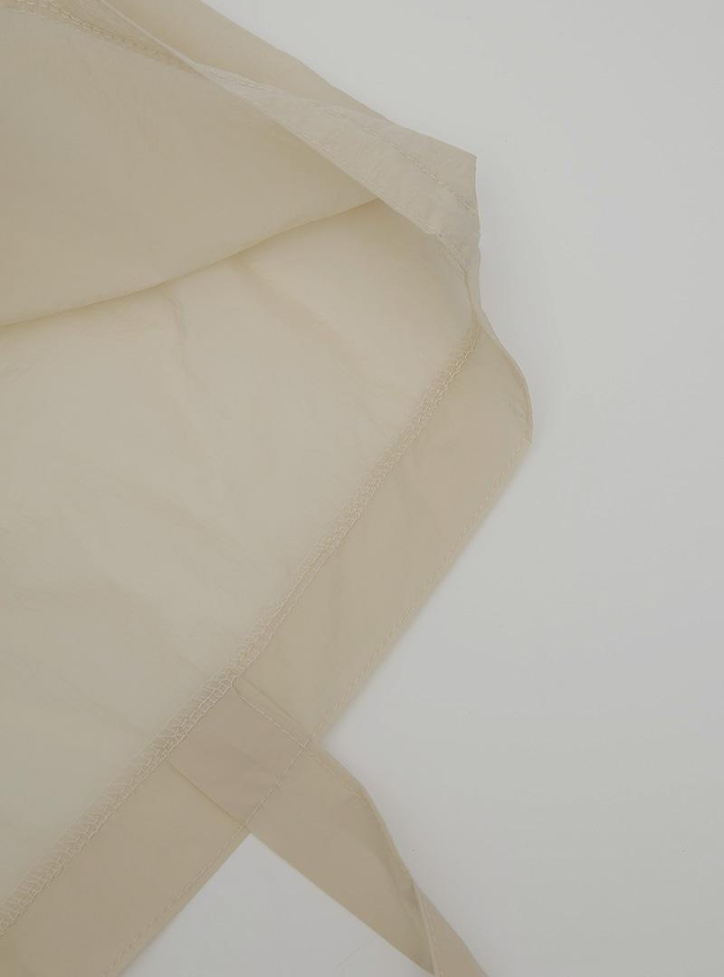 Solid Tone Nylon Shoulder Bag