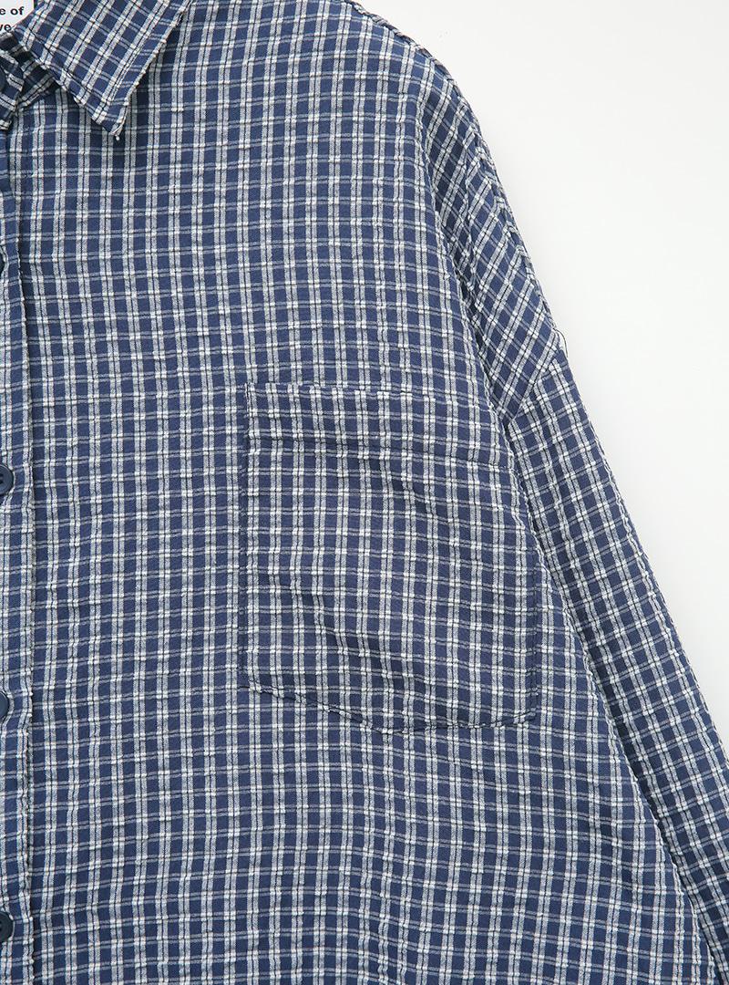 캐주얼잔체크 라이트셔츠