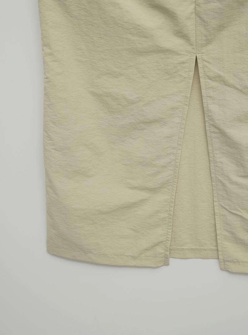 Tie-Strap Long Sleeveless Dress