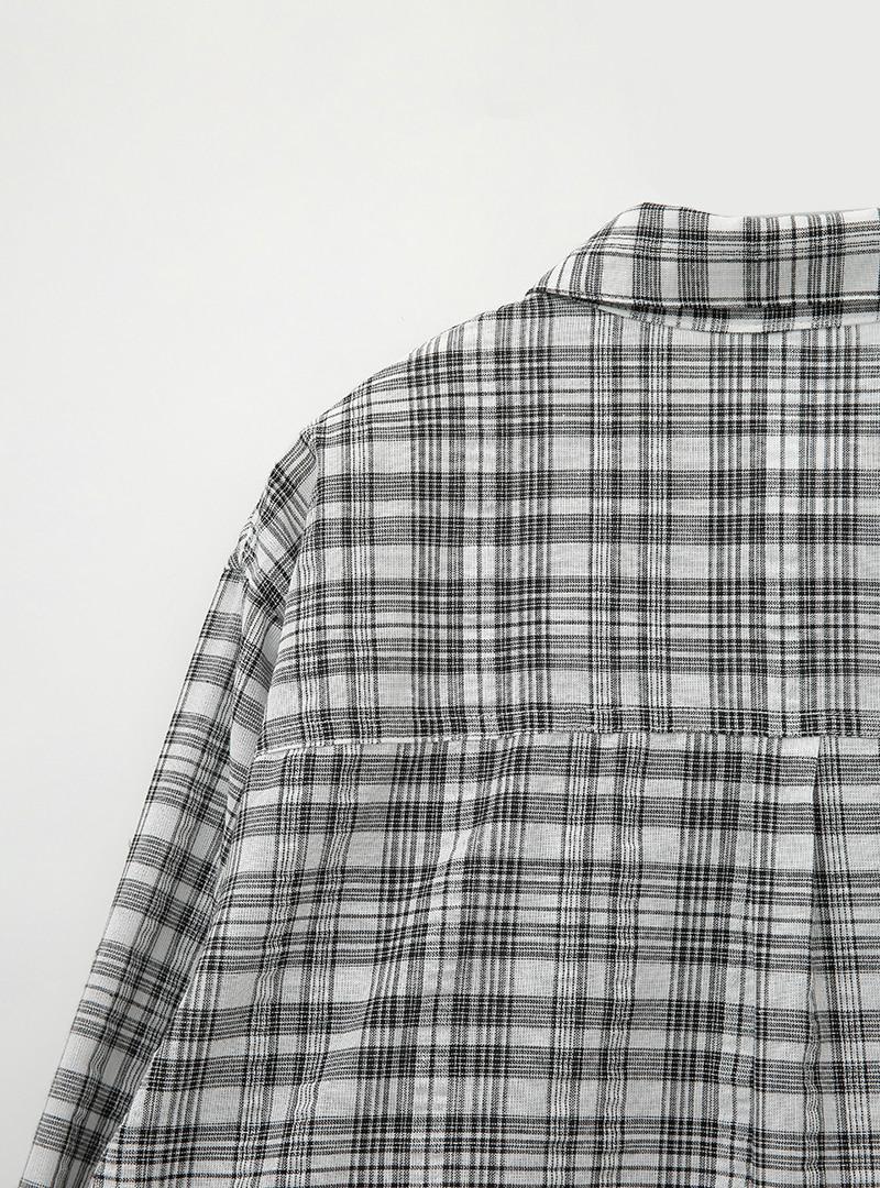 캐주얼호프 믹스체크셔츠