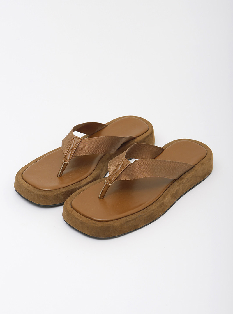 Thick Sole Thong Sandals