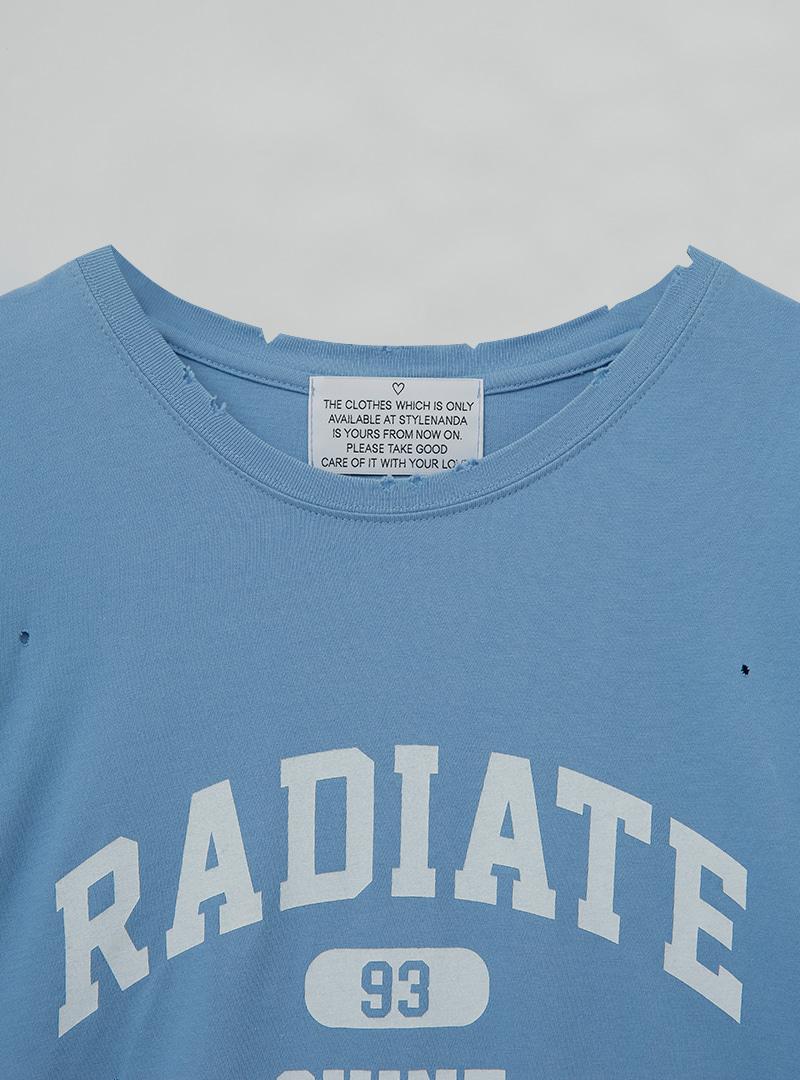 RADIATE Print Boxy T-Shirt