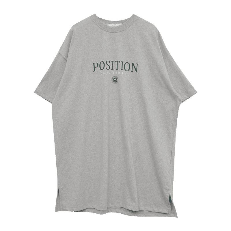 POSITION印花寬鬆T恤