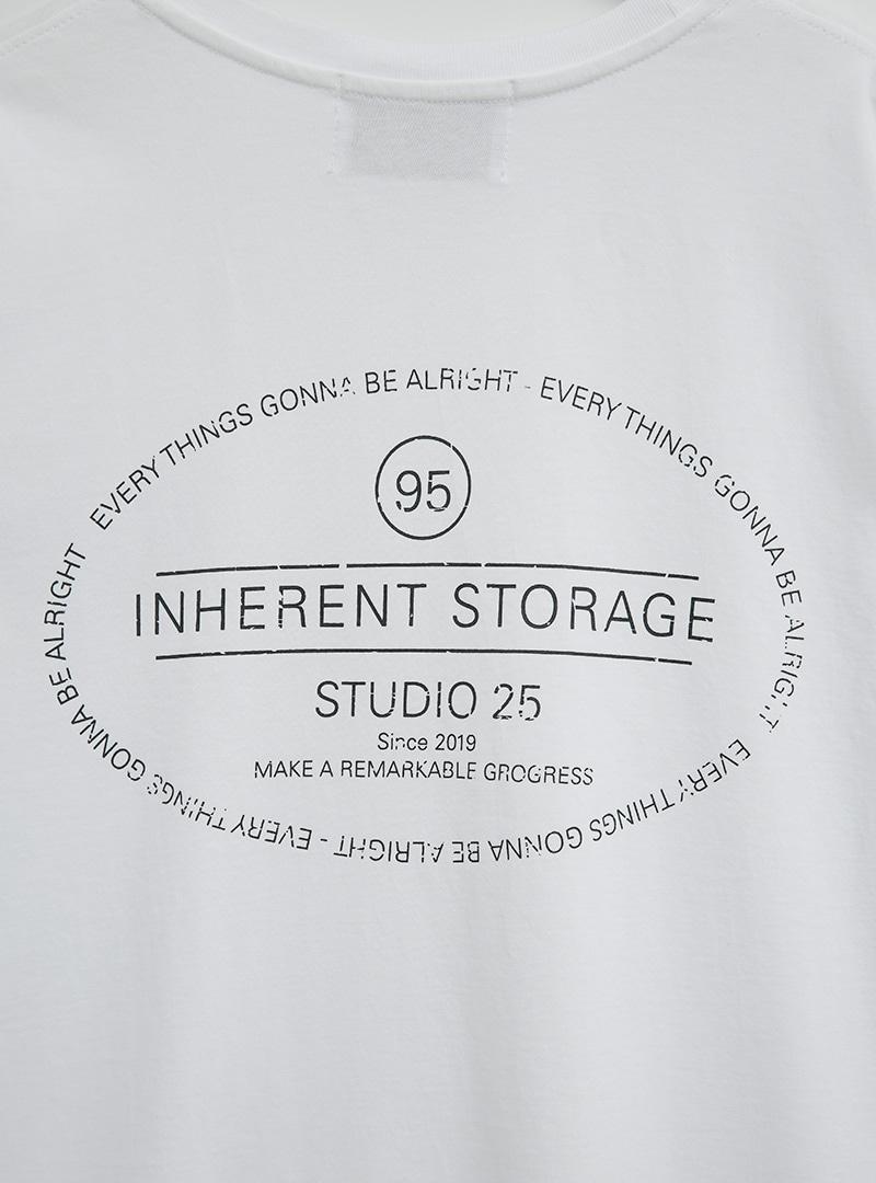 INHERENT STORAGE Print T-Shirt