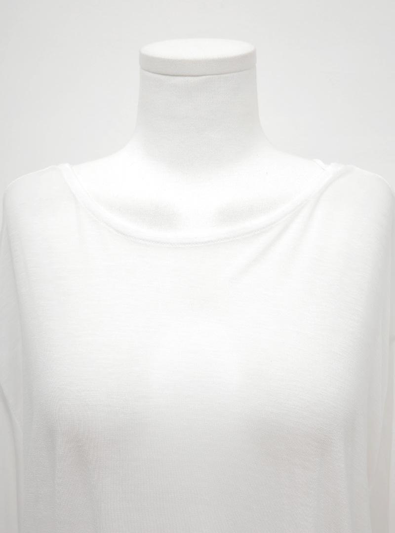 X-Strap Back Semi-Sheer Long Dress