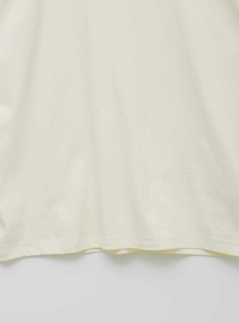 Half Sleeve Loose Fit Cotton T-Shirt