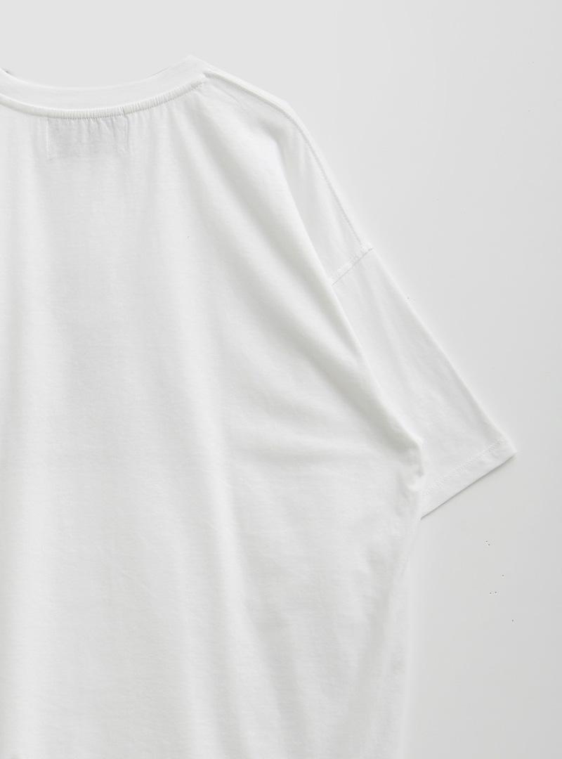 Deer Print Loose Fit T-Shirt