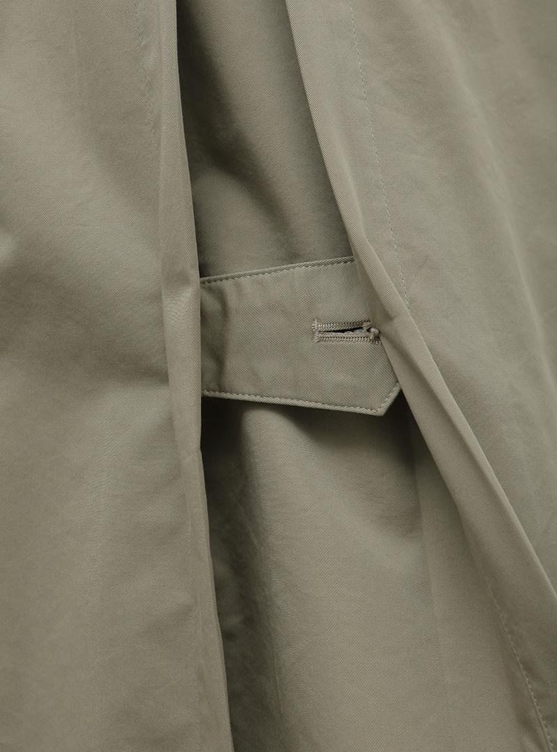 로우브레스티드 트렌치코트 (+belt)