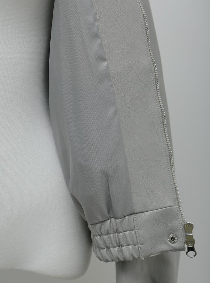 크럼플실루엣 레더블루종자켓#11월 03일부터 순차 배송가능!!