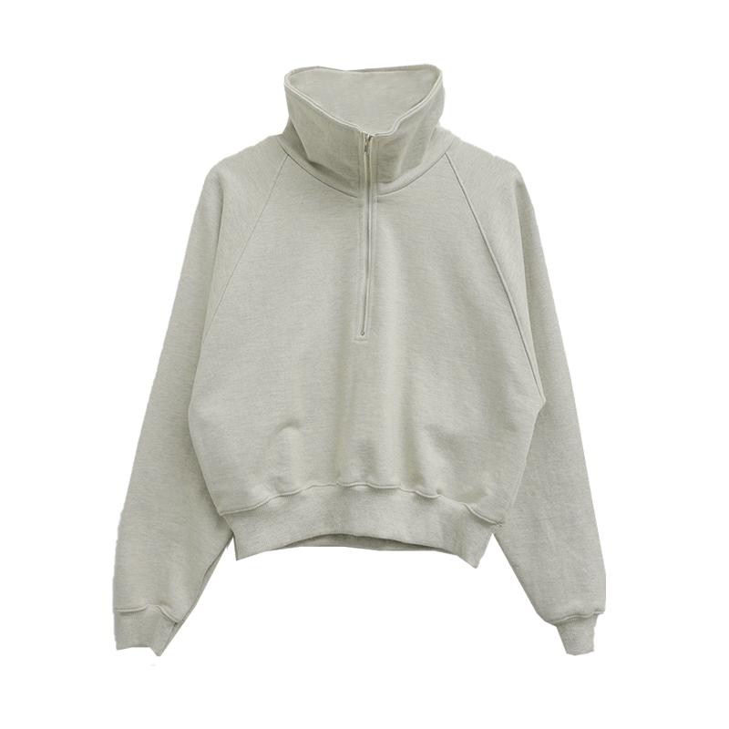 Half Zip Raglan Sweatshirt