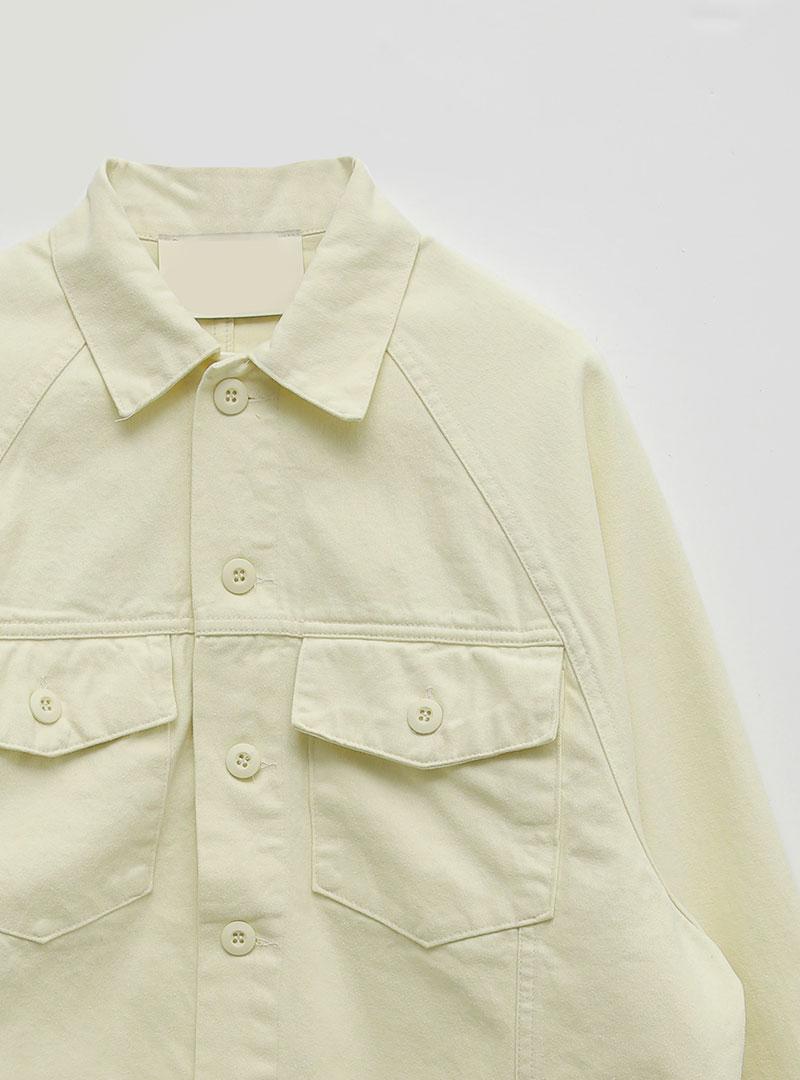 翻蓋口袋拉克蘭袖外套10月13日開始按購買先後順序進行配送!!