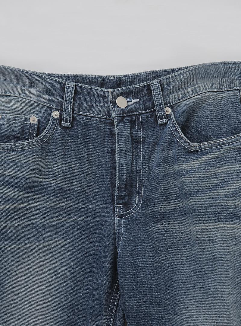 美式潮流刷色喇叭牛仔褲11月8日開始按購買先後順序進行配送!!