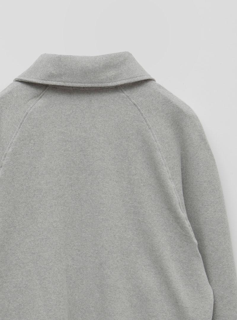 Raglan Sleeve Zip-Up Jacket