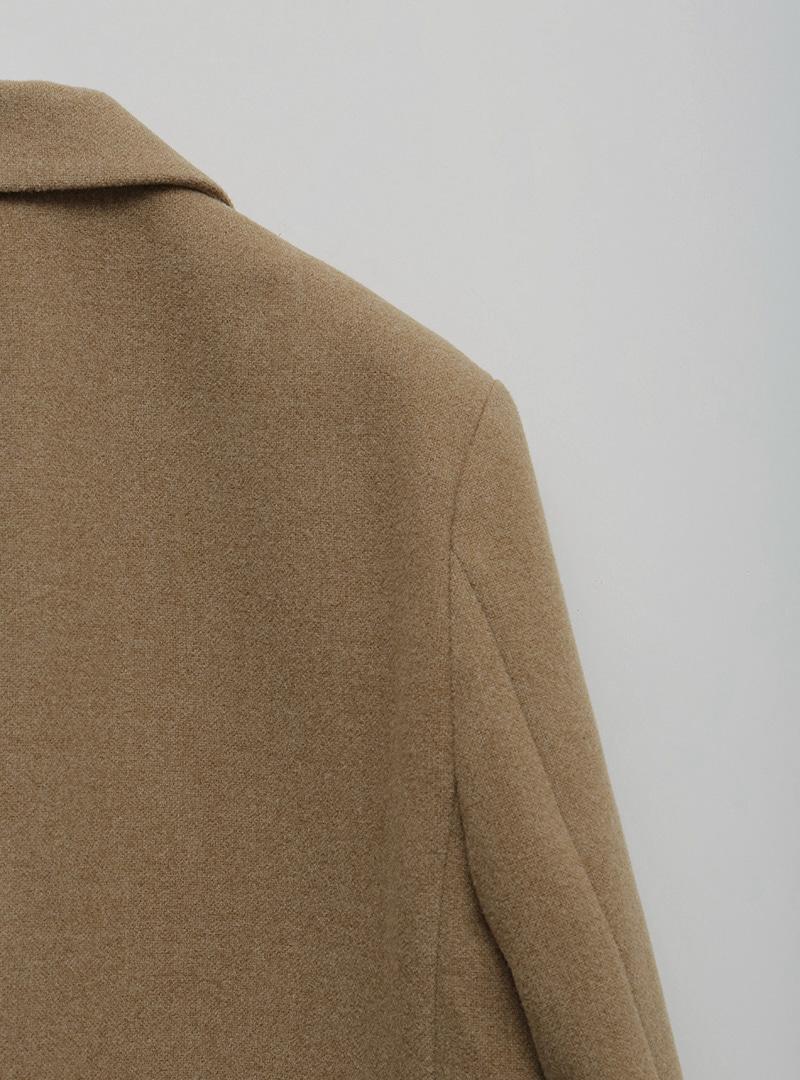 混羊毛純色西裝外套10月29日開始按購買先後順序進行配送!!