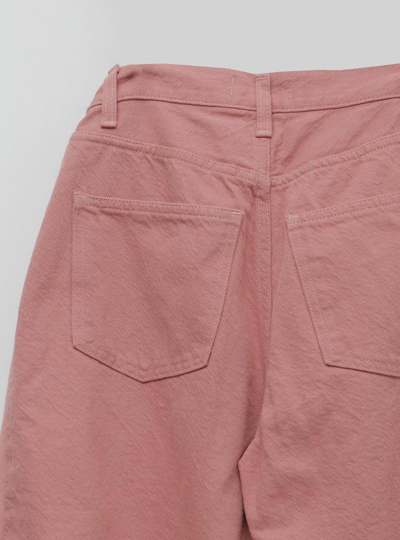 Self-Tie Waist Loose Fit Pants