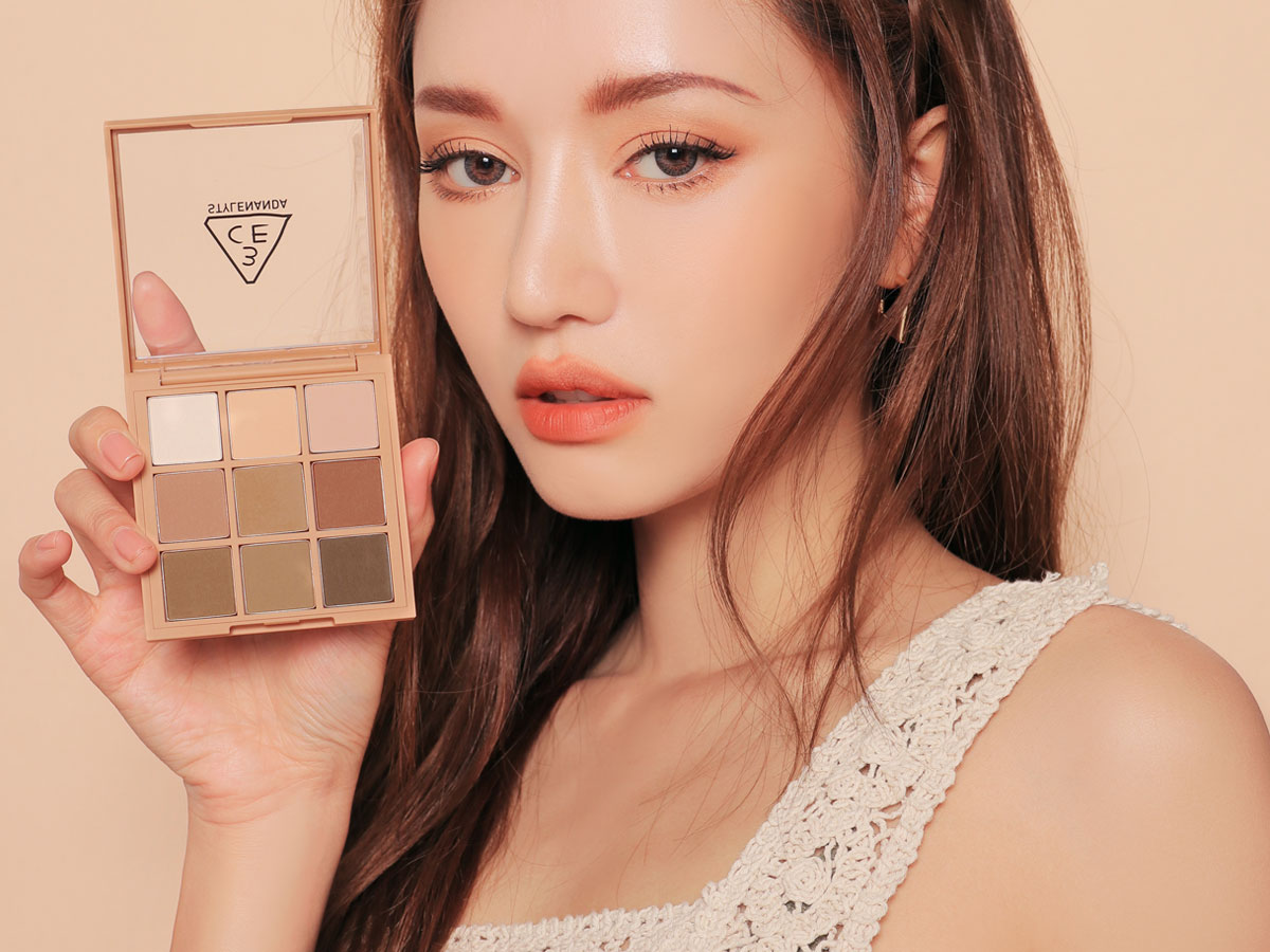 3CE MOOD RECIPE MULTI EYE COLOR PALETTE #SMOOTHER