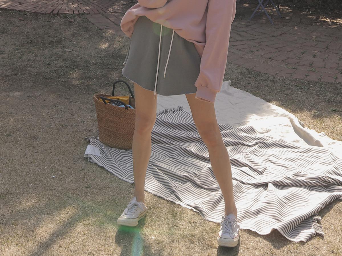 피그톤와이드 커팅밴딩쇼츠
