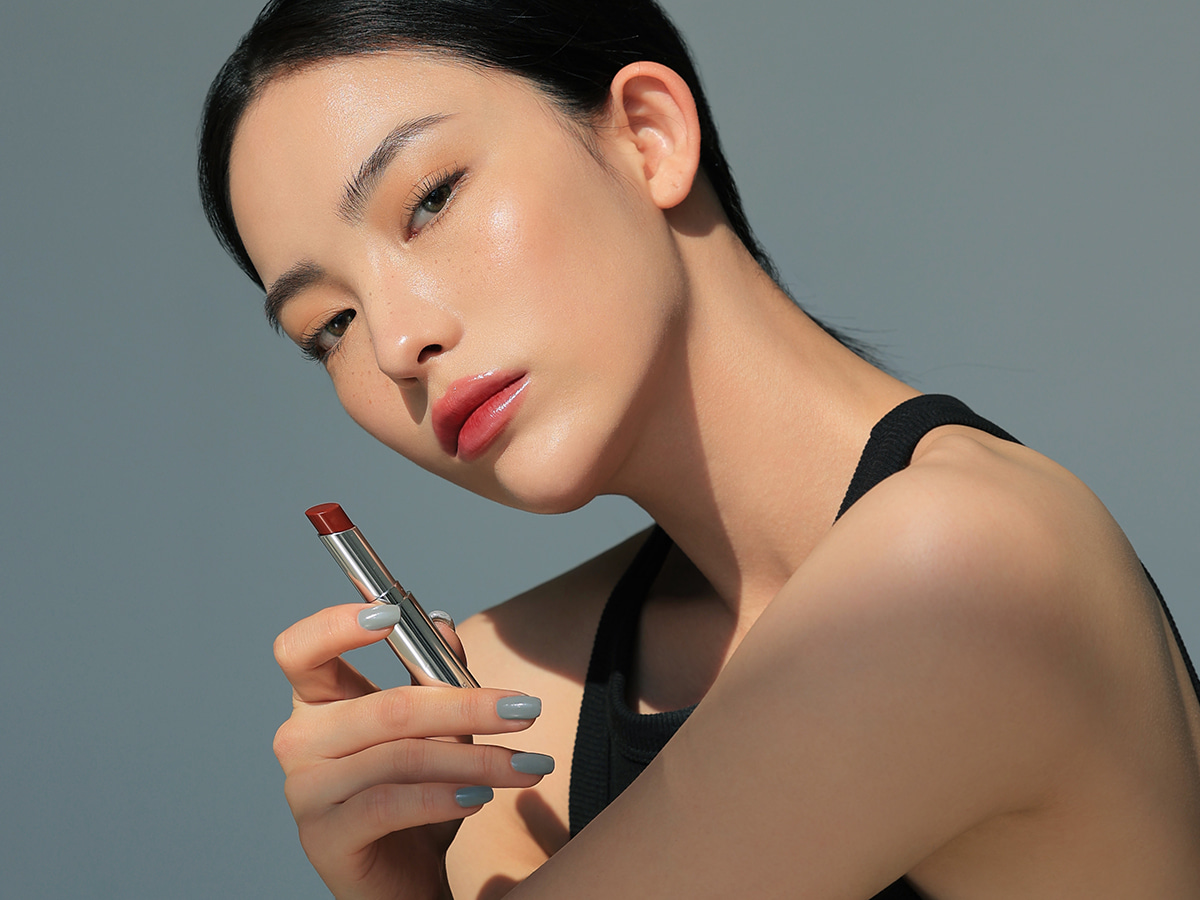 3CE GLOW LIP COLOR #SMOKY RED