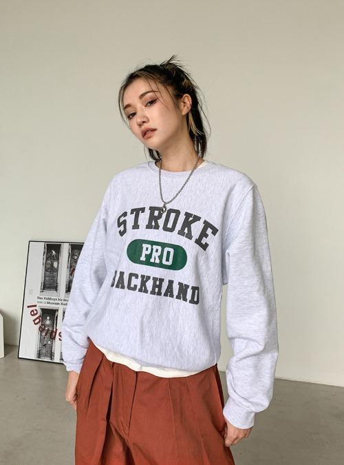 STROKE Print Sweatshirt