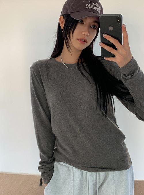 Rayon Blend Basic T-Shirt