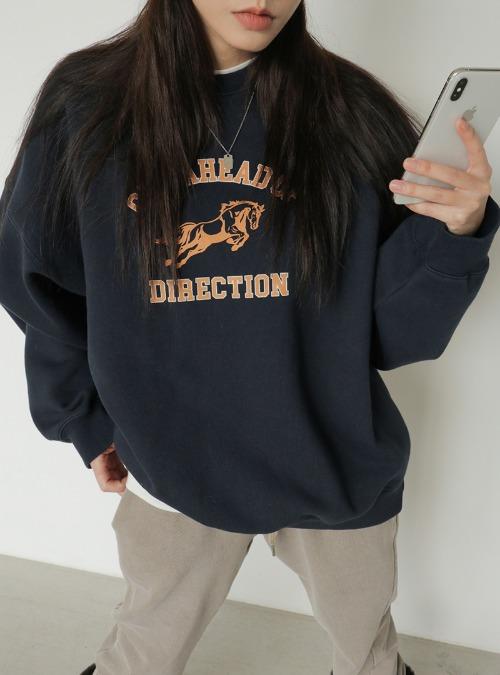 DIRECTION Printed Sweatshirt