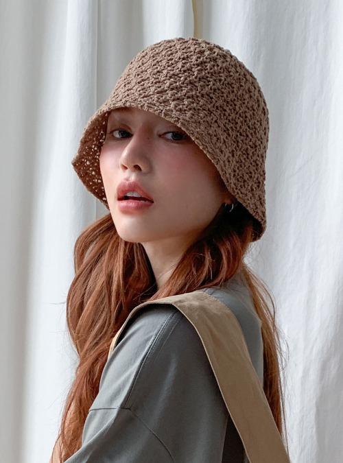 Bell-Shaped Single Tone Knit Hat