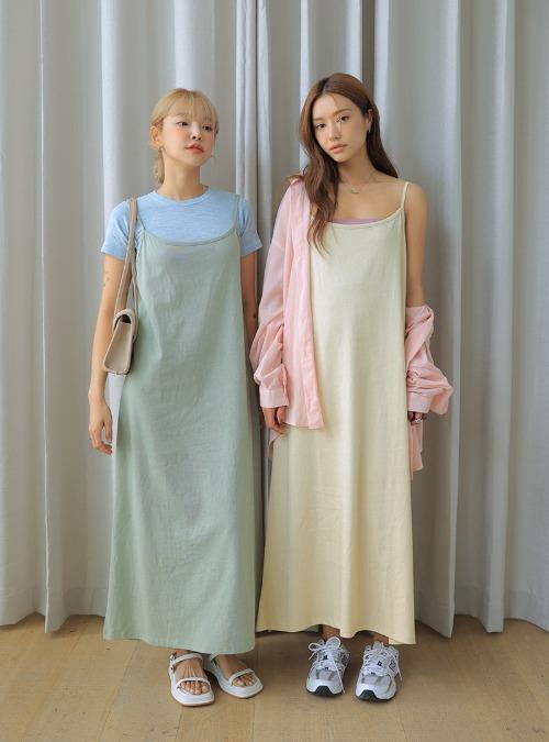 Low Back Maxi Sleeveless Dress