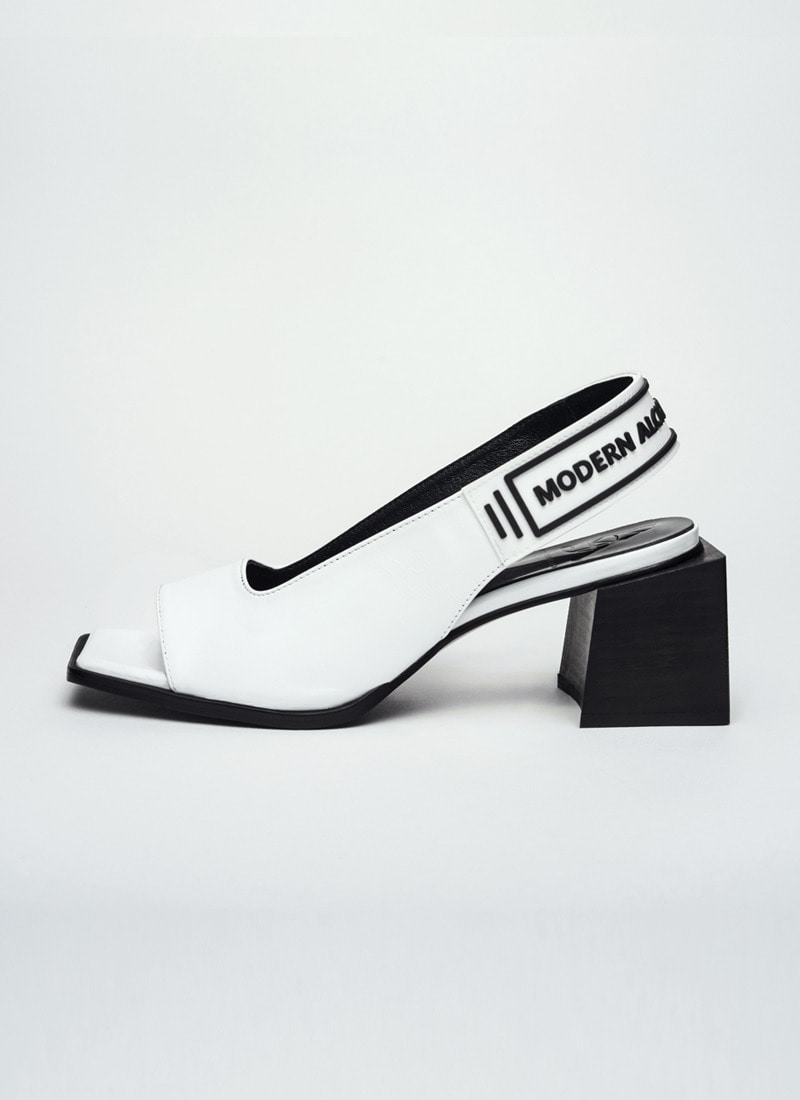 PROJECT2. SNEAKERS SLINGBACK_WH