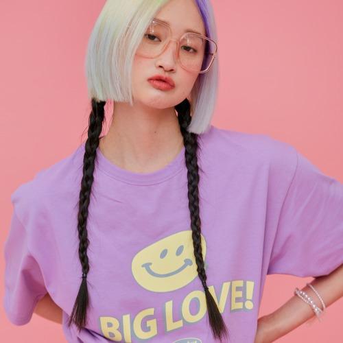 ND 21SS 1/2 T-shirt (Purple)