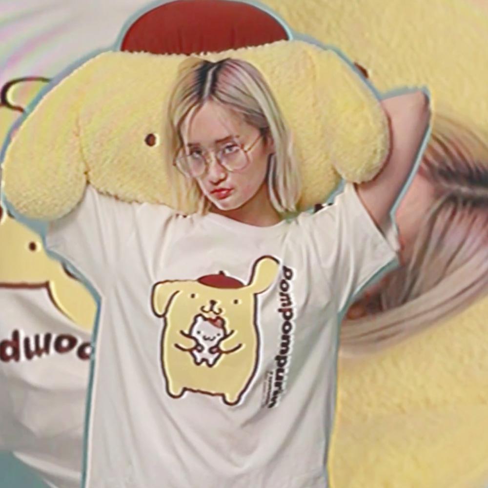Pompompurin 1/2 T-Shirt