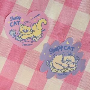 [Sleepy World] Sleepy Cat Sticker Set
