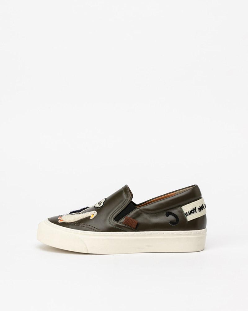Hilo Slip-on Sneakers in Khaki