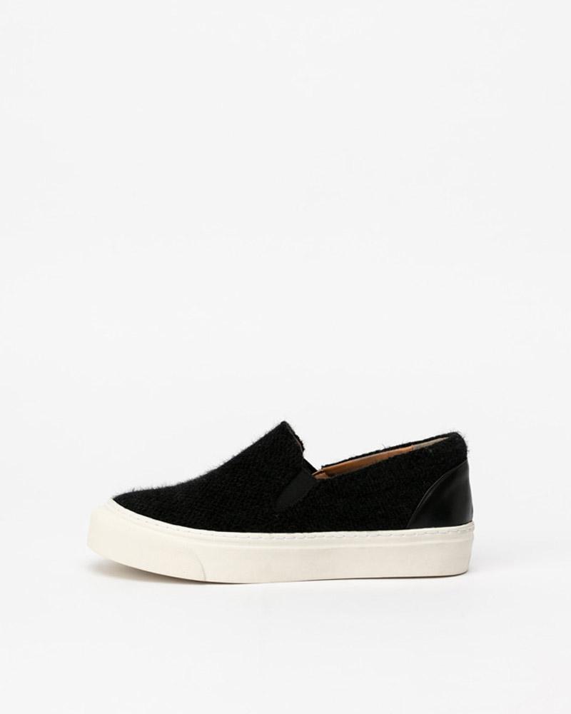 Molita Angora Slip-on Sneakers in Black