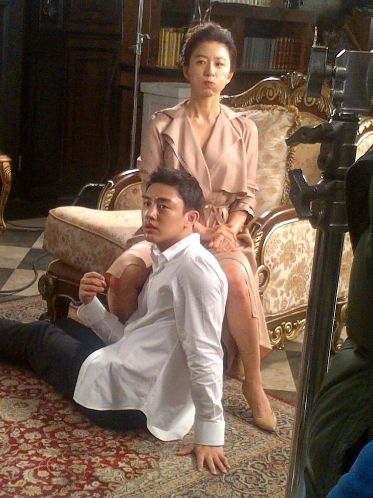 김희애 님 / Actress Kim, Heeae at Milae the TV Show