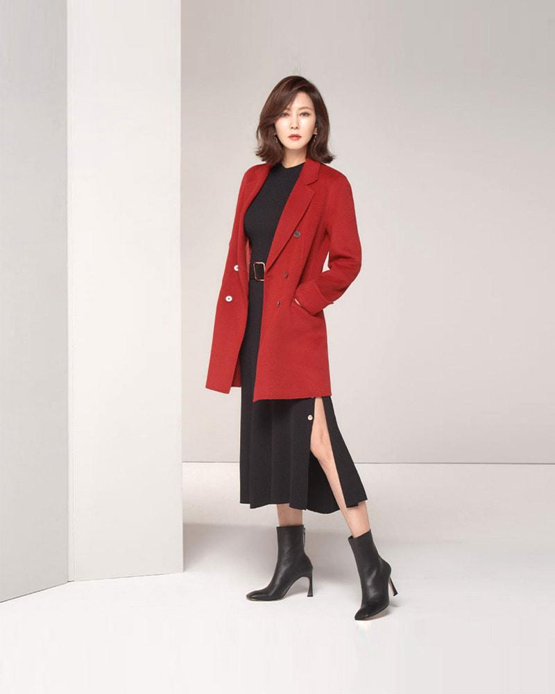 김남주 님 / Actress Kim, Namju with Delma Boots