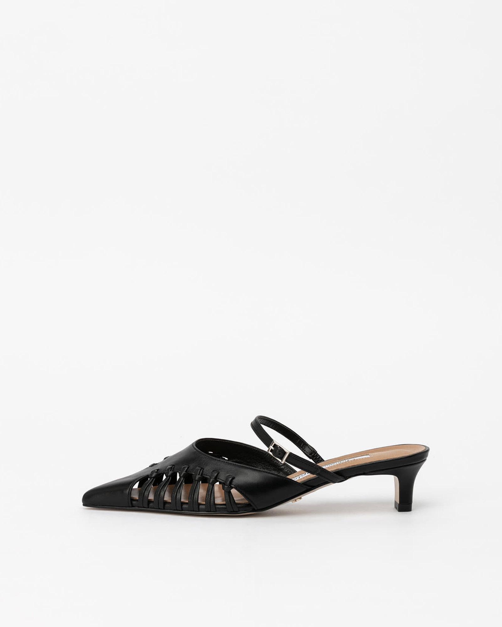 Pinceaux Mules in Black