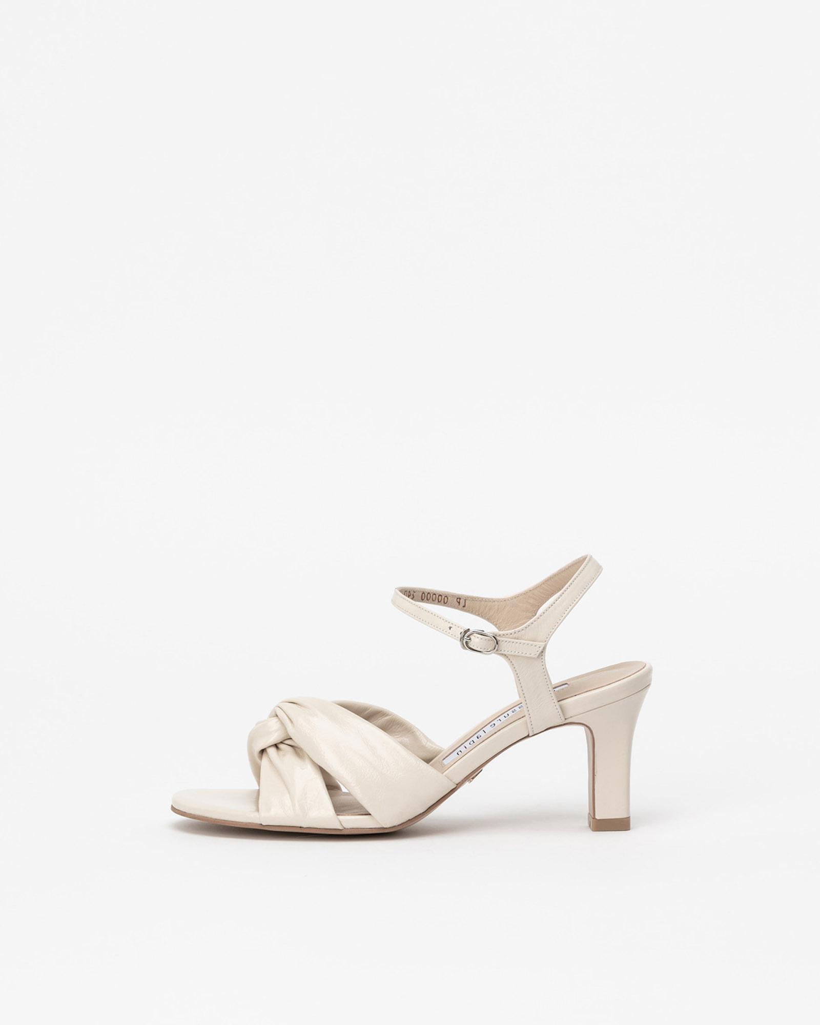 Blisse Sandals in Wrinkled Ivory