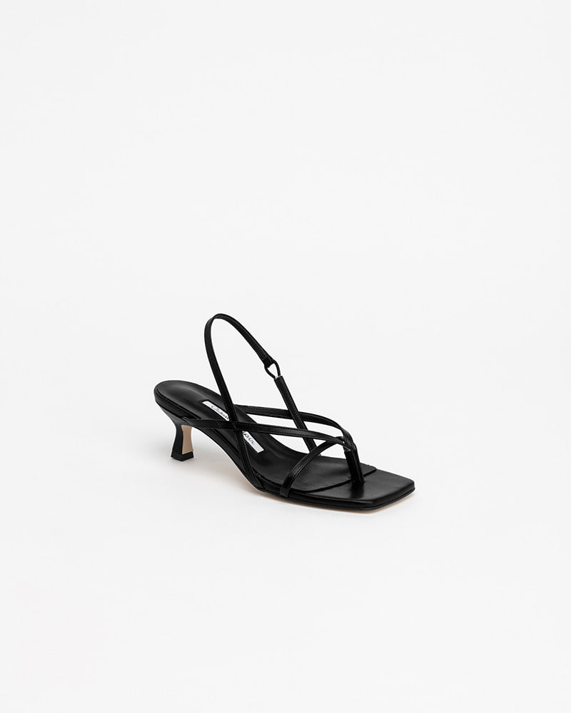 Bueno Thong Sandals in Black