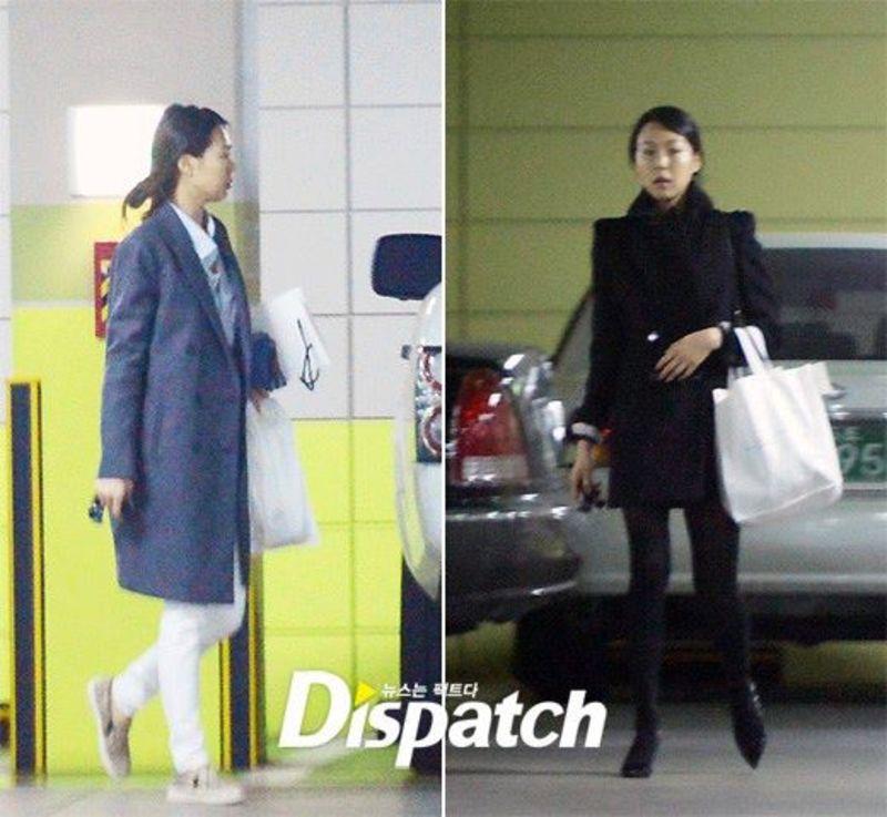 김민희 님 / Actress Kim, Minhee with 8075 Sneakers