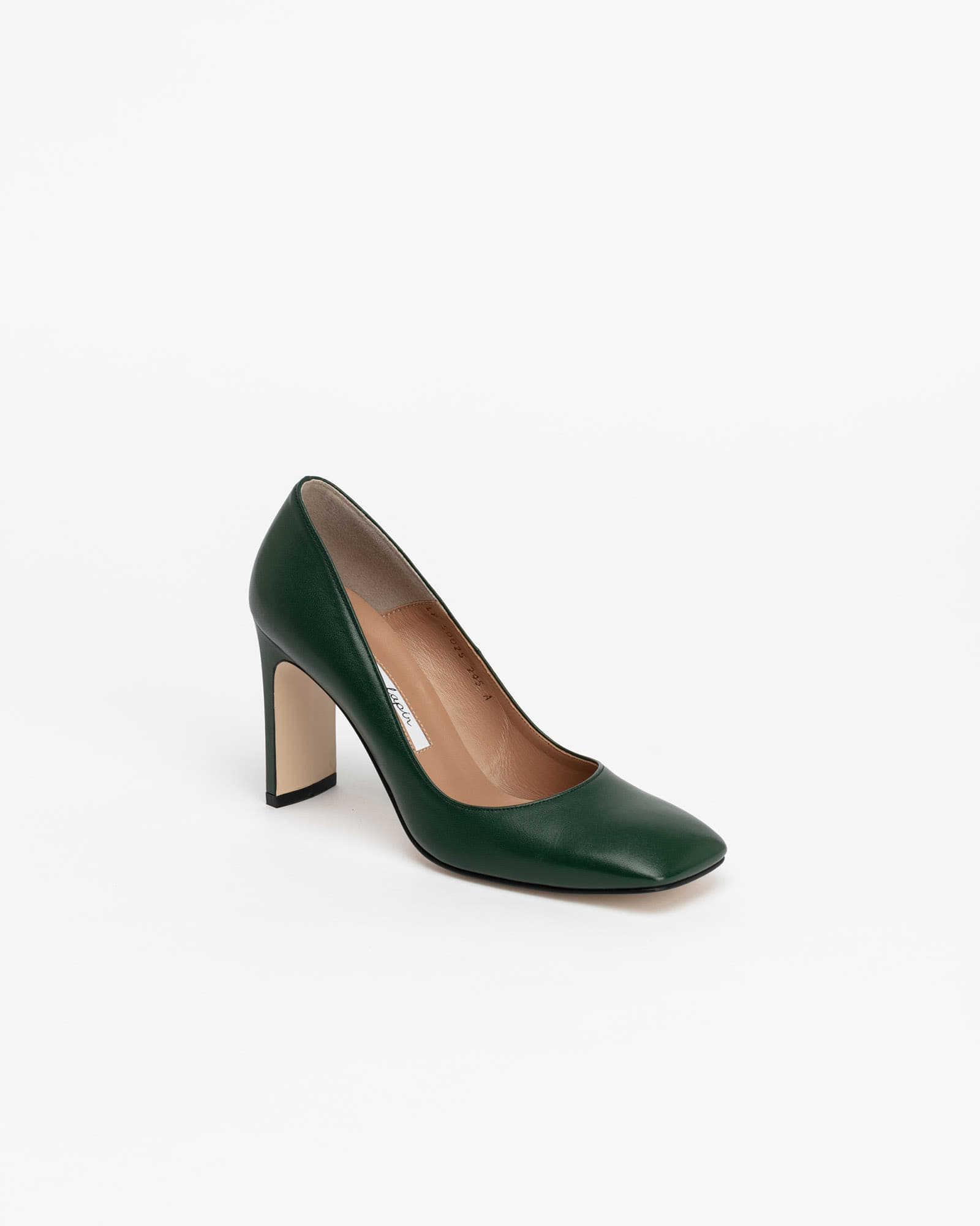 Carpa Pumps in Forest Green
