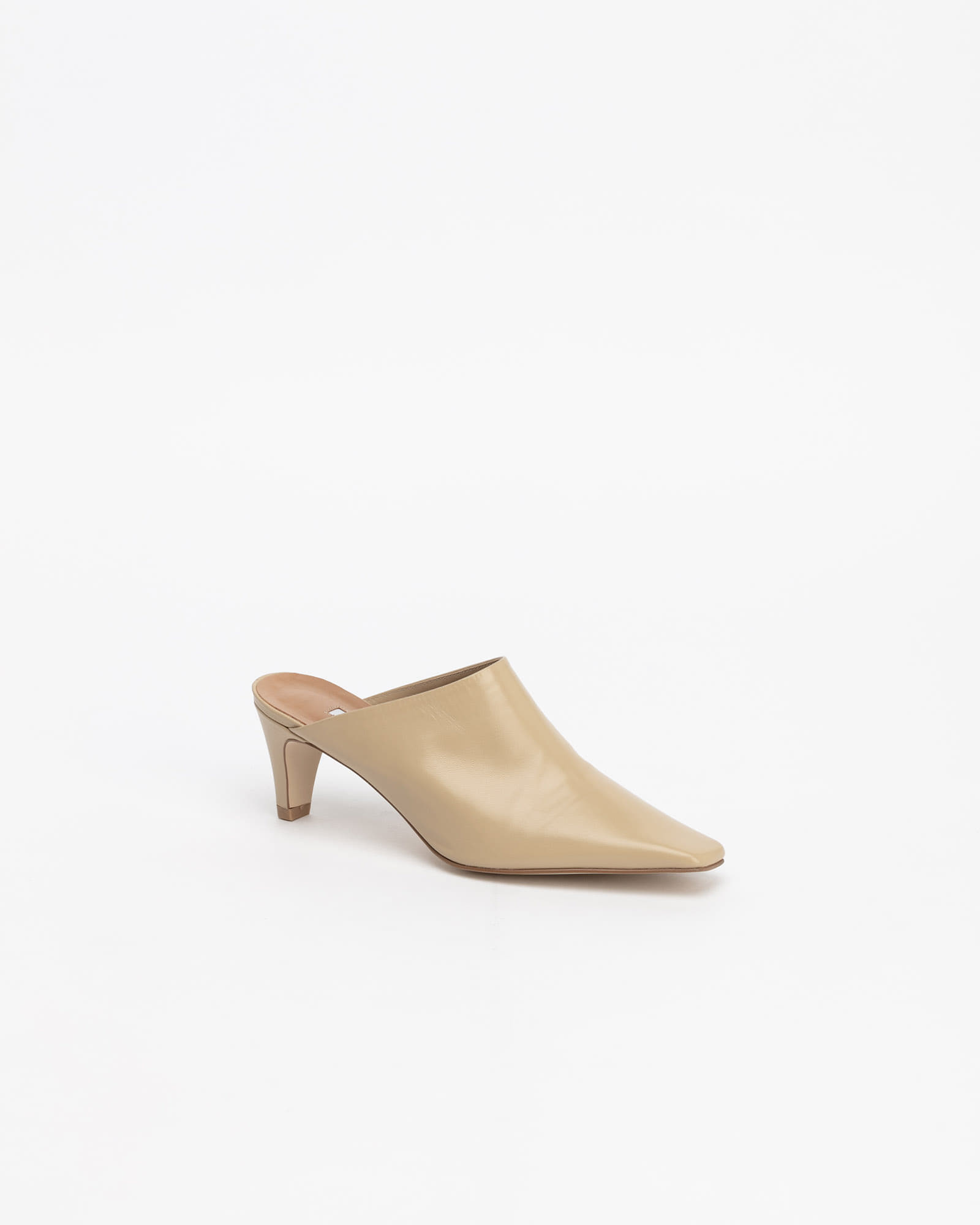 Ava Soft Mules in Yellow Beige
