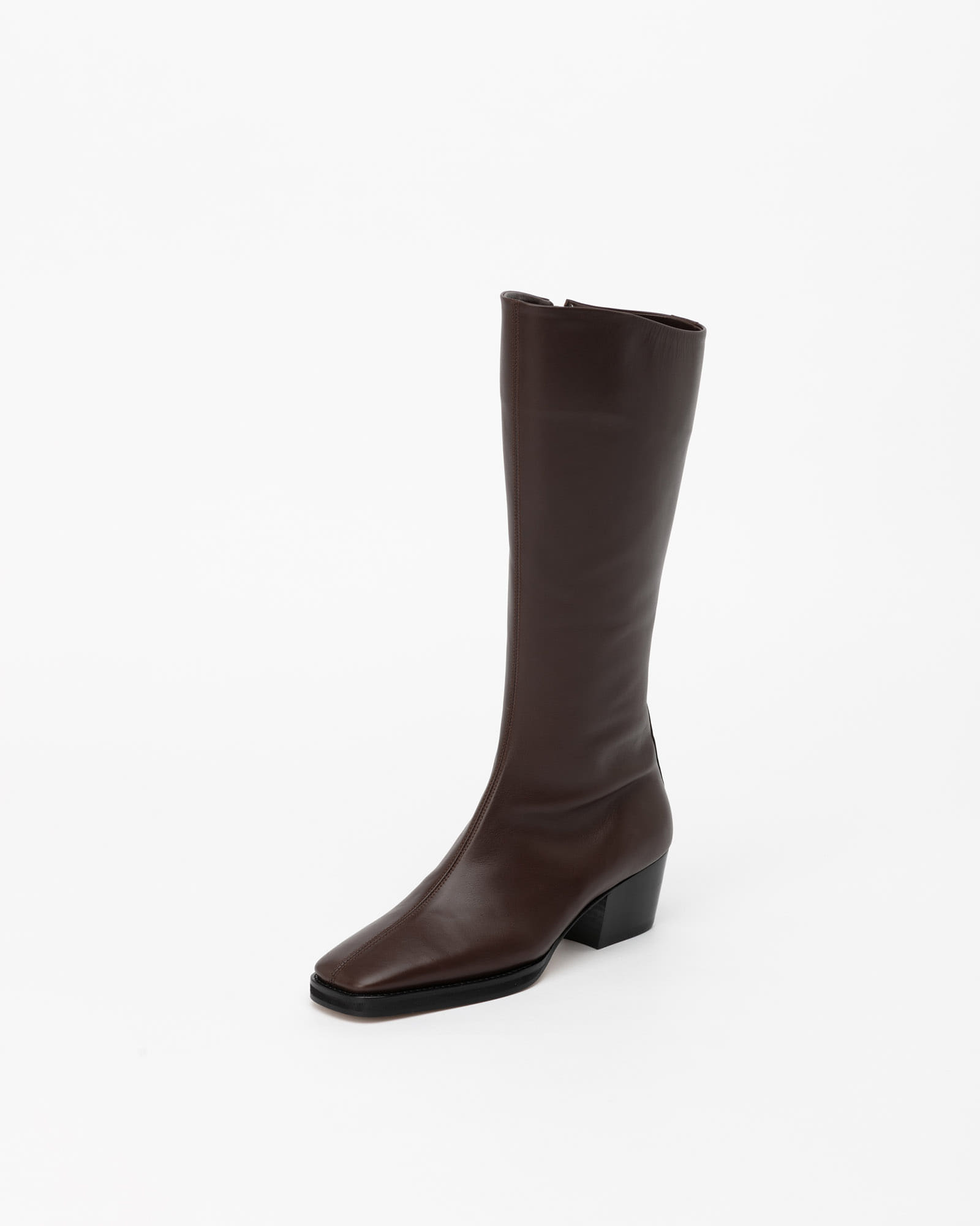 Basel Boots in Dark Brown