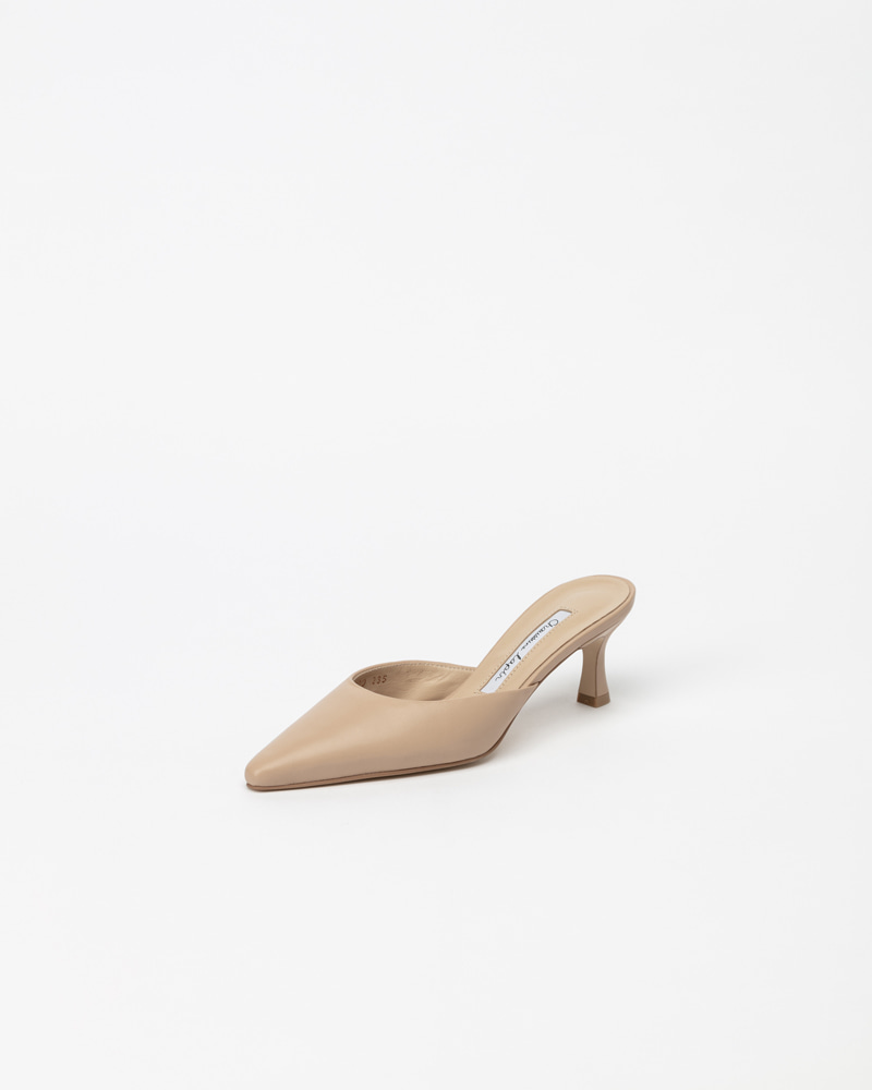 Lafonte Soft Mules in Sunset Pink