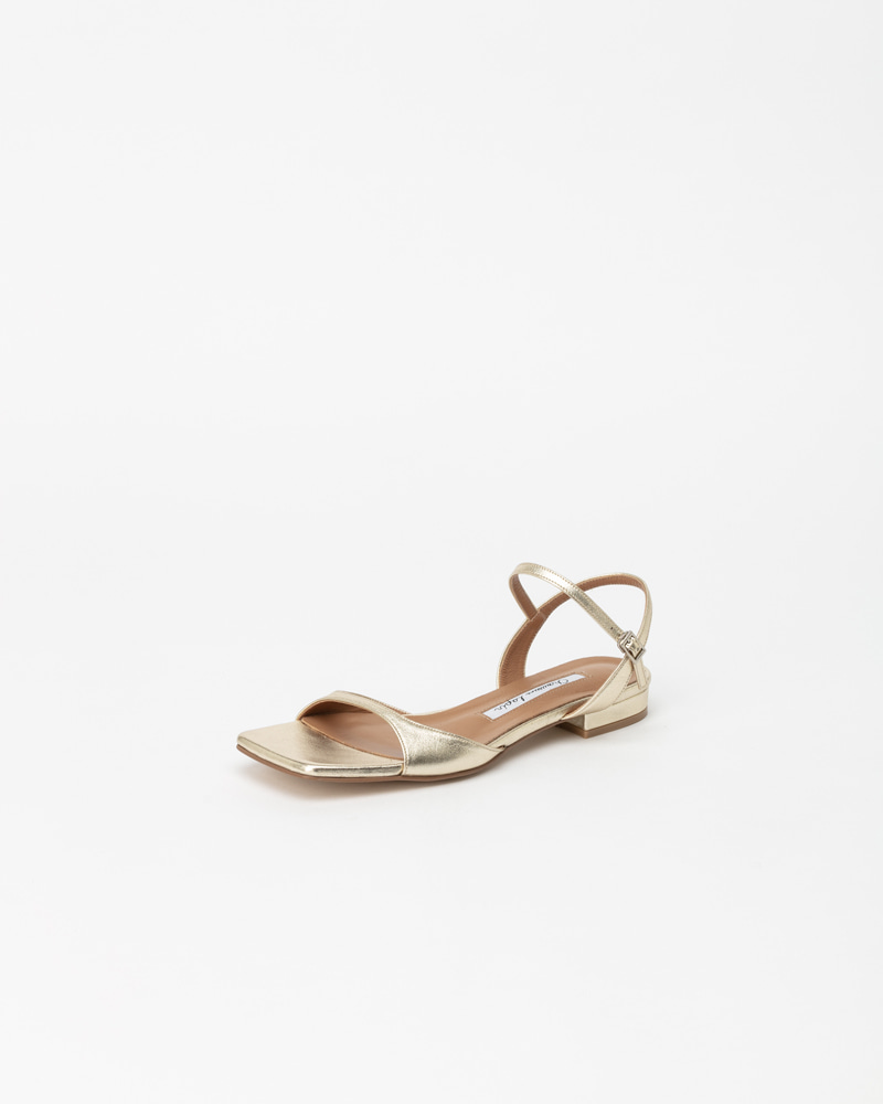 Parsel Flat Sandals in Star Gold