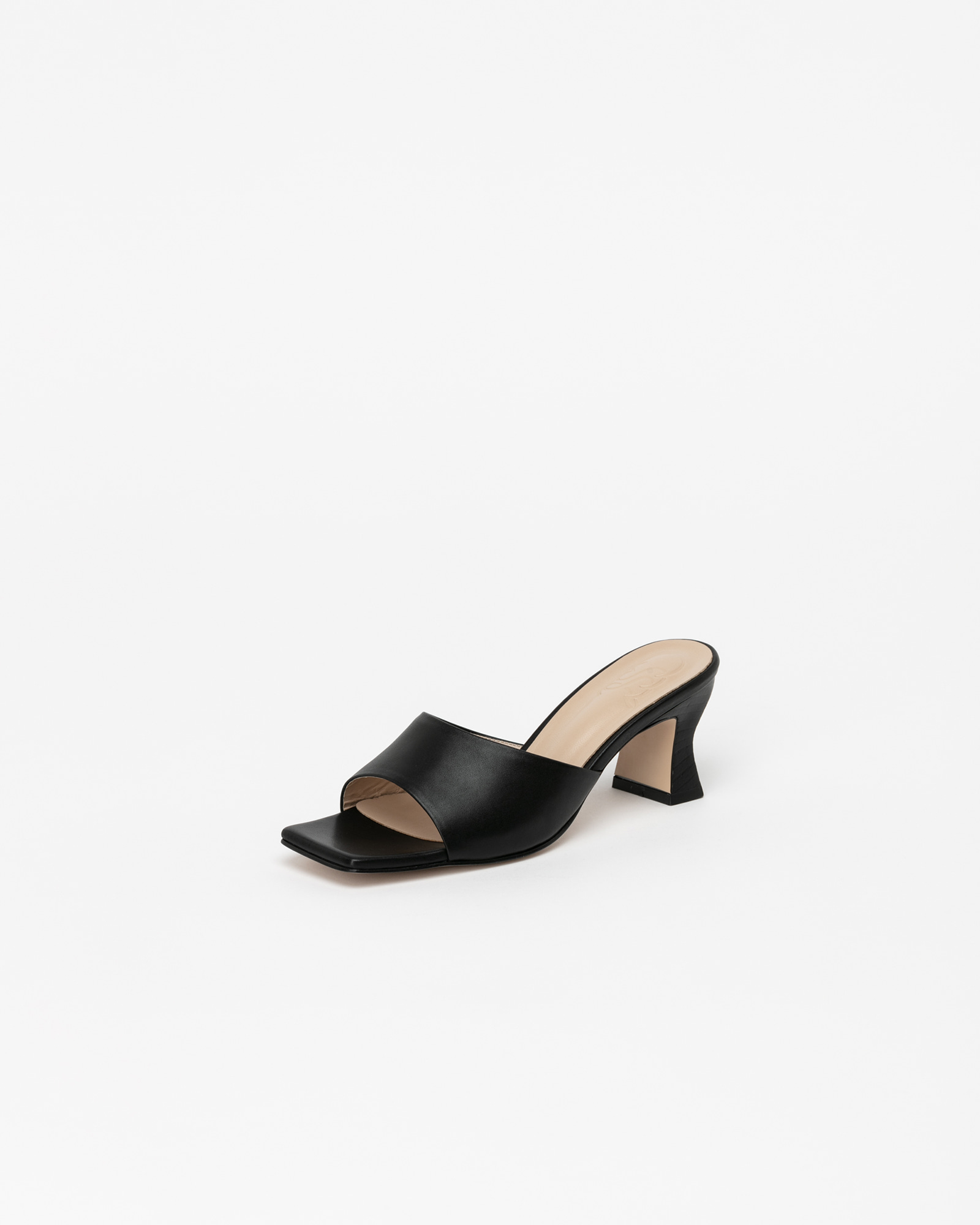 Toulouse Mules in Black