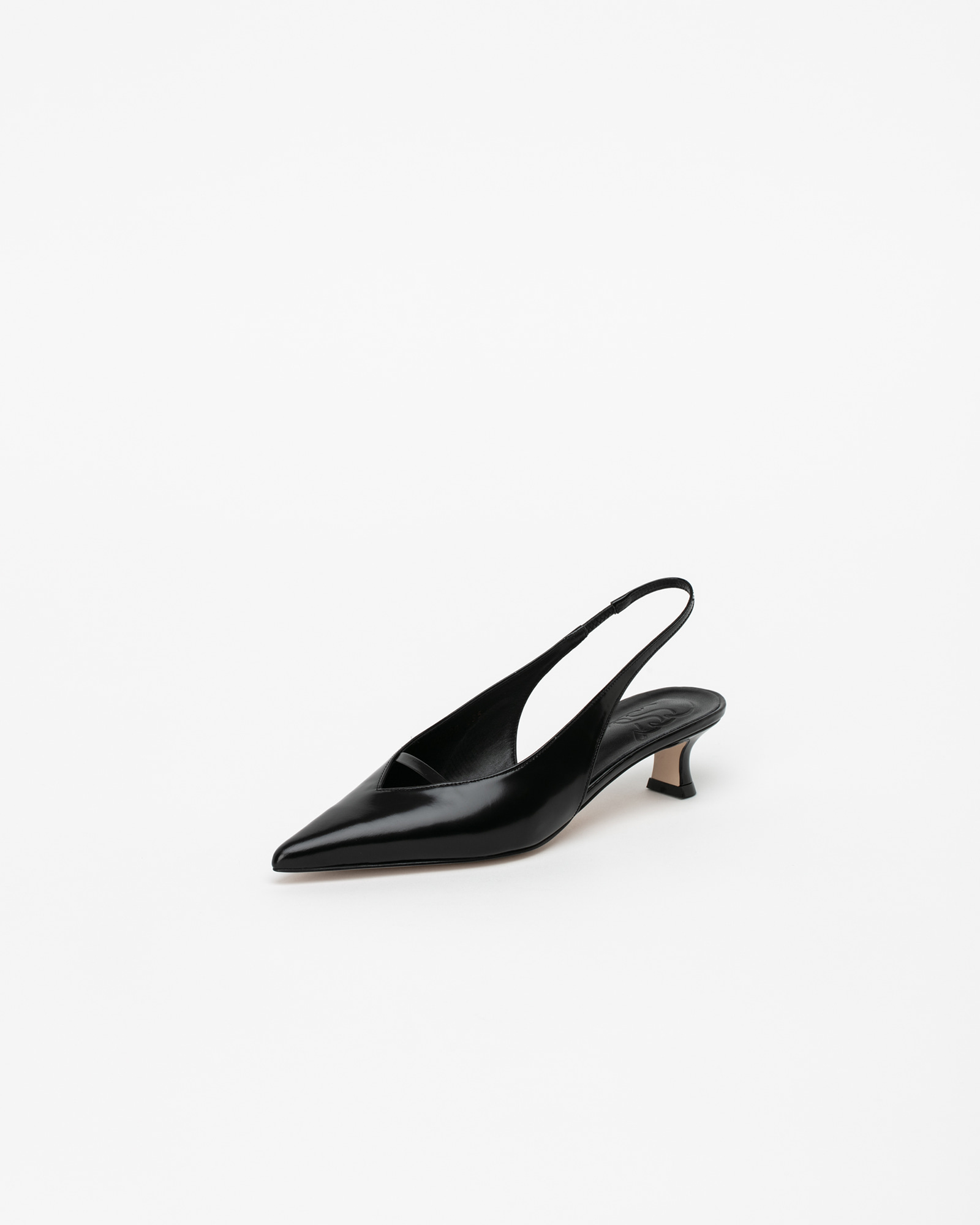 Pact Slingback Pumps in Black Box