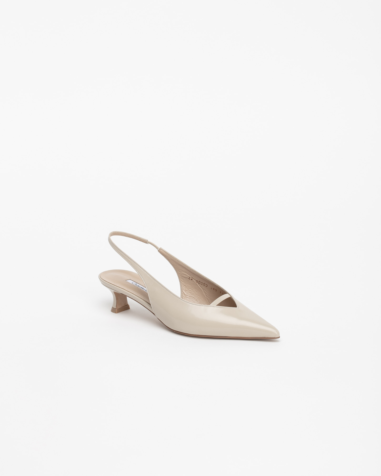 Pact Slingback Pumps in Ivory Box
