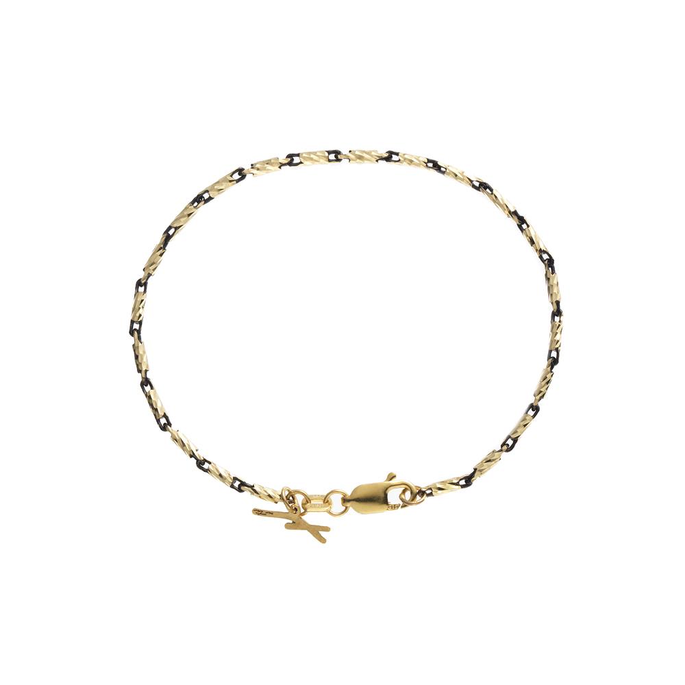 [Lume piu] Yellow & Black Bracelet